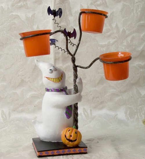 Ghost Candle Tree Holder