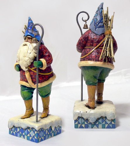 Jim Shore Santa Danish Chistmas Traveler