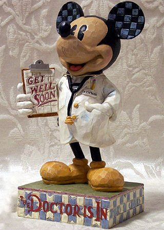 Jim Shore Disney Showcase Dr. Mickey Mouse