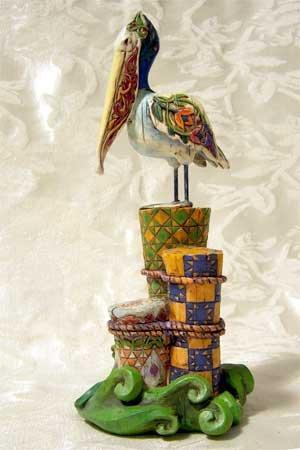 Jim Shore Pelican Figurine