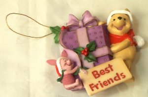 Pooh & Piglet Best Friends Ornament