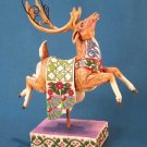 Jim Shore Heartwood Creek Green Reindeer