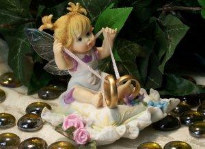 Kitchen Fairy Wedding Rings