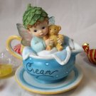 Kitchen Fairy Baby Boy in Creamer