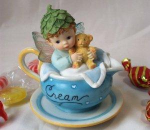 Kitchen Fairy Baby Boy in Creamer