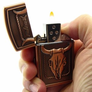 8GB USB Thumbdrive inside a REAL WORKING lighter