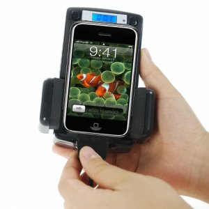 FM Transmitter and Cradle for iPhone + iPod