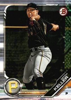 2019 Bowman Prospects BP133 - Mitch Keller, Pittsburgh Pirates