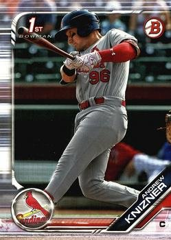 2019 Bowman Prospects BP132 - Andrew Knizner, St. Louis Cardinals