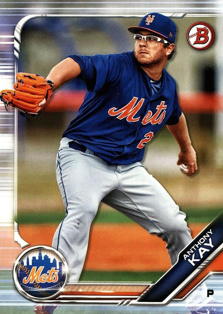 2019 Bowman Prospects BP108 - Anthony Kay, New York Mets
