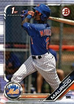 2019 Bowman Prospects BP107 - Ronny Mauricio, New York Mets