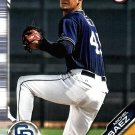 2019 Bowman Prospects BP106 - Michael Baez, San Diego Padres