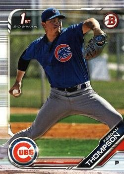 2019 Bowman Prospects BP90 - Keegan Thompson, Chicago Cubs