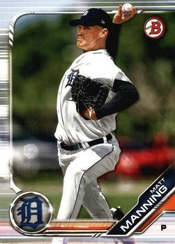 2019 Bowman Prospects BP85 - Matt Manning, Detroit Tigers