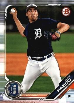 2019 Bowman Prospects BP78 - Alex Faedo, Detroit Tigers