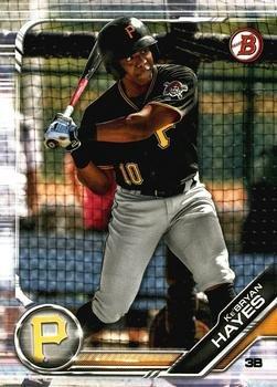 2019 Bowman Prospects BP71 - Ke'Bryan Hayes, Pittsburgh Pirates