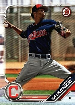 2019 Bowman Prospects BP40 - Triston McKenzie, Cleveland Indians