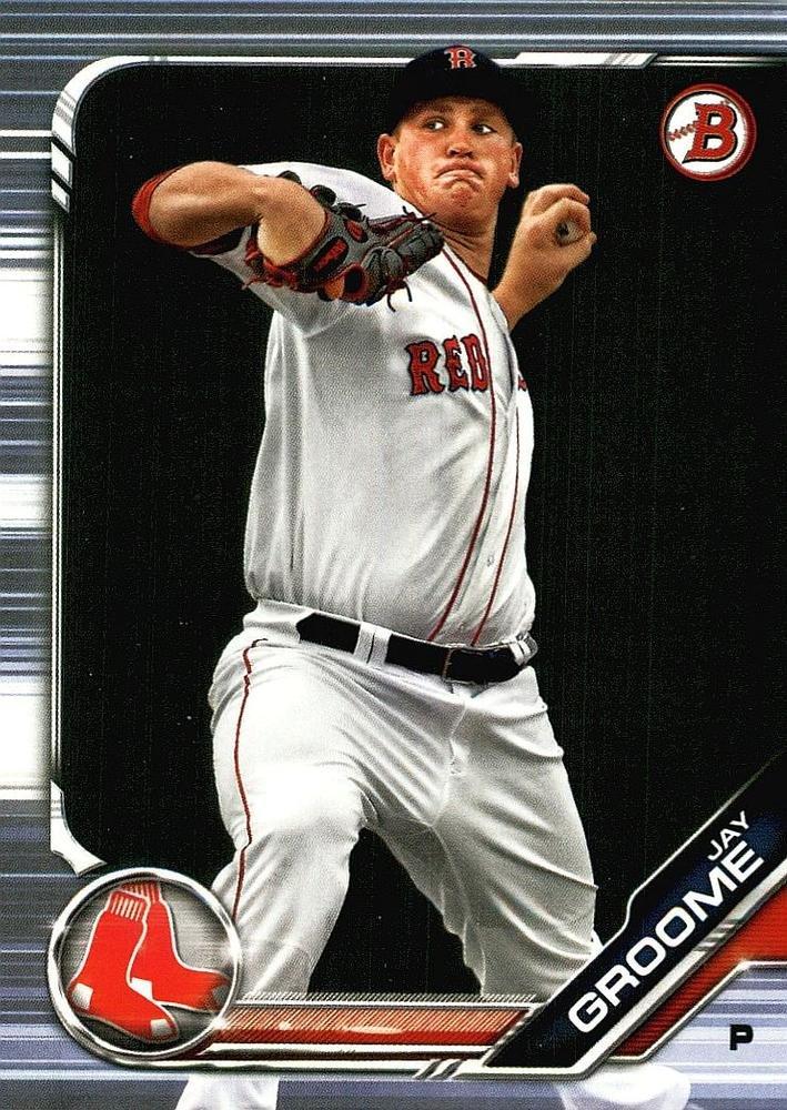 2019 Bowman Prospects BP27 - Jay Groome, Boston Red Sox