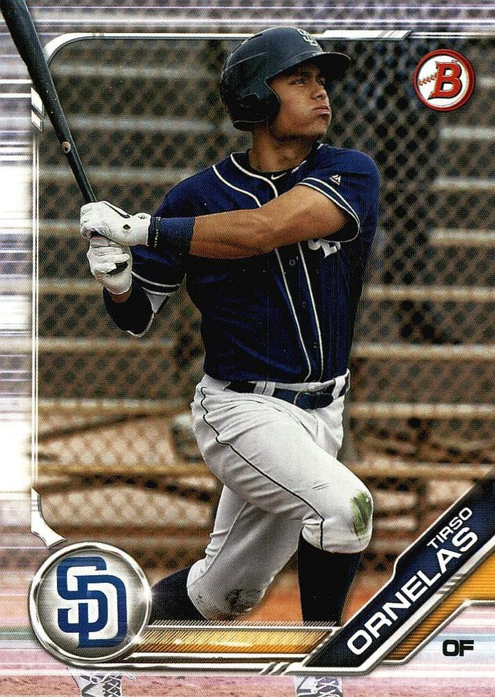 2019 Bowman Prospects BP7 - Tirso Ornelas, San Diego Padres