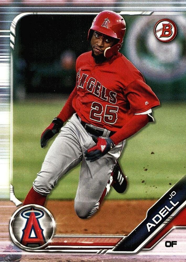 2019 Bowman Prospects BP4 - Jo Adell, Los Angeles Angels