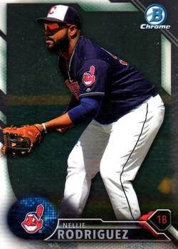2016 Bowman Chrome Prospects BCP242 - Nellie Rodriguez, Cleveland Indians