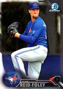 2016 Bowman Chrome Prospects BCP224 - Sean Reid-Foley, Toronto Blue Jays