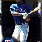 2016 Bowman Chrome Prospects BCP137 - Lewis Brinson, Texas Rangers
