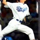 2016 Bowman Chrome Prospects BCP78 - Walker Buehler, Los Angeles Dodgers