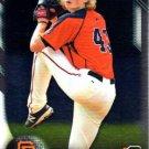 2016 Bowman Chrome Prospects BCP72 - Phil Bickford, San Francisco Giants