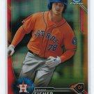 2016 Bowman Chrome Prospects Orange Refractors BCP125 - Derek Fisher, Houston Astros