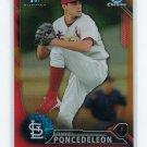 2016 Bowman Chrome Prospects Orange Refractors BCP53 - Daniel Poncedeleon, St. Louis Cardinals