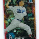 2016 Bowman Chrome Prospects Orange Shimmer Refractors BCP78 - Walker Buehler, Los Angeles Dodgers