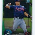 2016 Bowman Chrome Prospects Green Refractors BCP202 - Austin Riley, Atlanta Braves