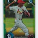 2016 Bowman Chrome Prospects Green Refractors BCP183 - Raffy Ozuna, St. Louis Cardinals
