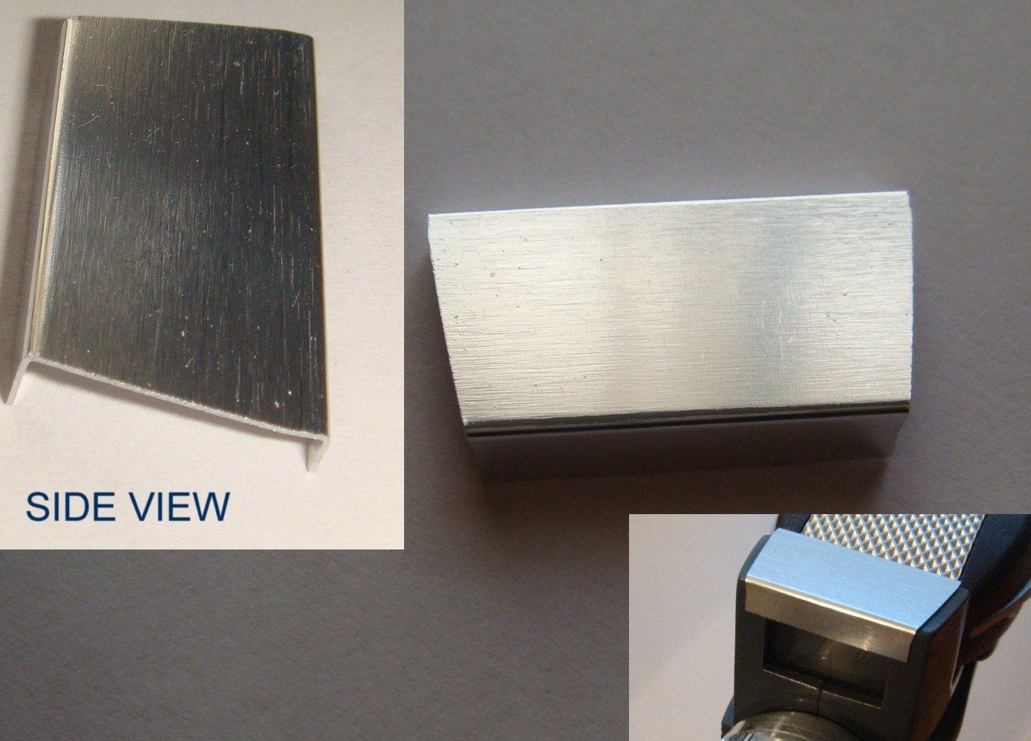 ART ASYLUM / DIAMOND SELECT STAR TREK TOS PHASER METAL TOP PLATE / PARTS