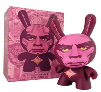 """Obey Giant Dunny 8""""- by Shepard Fairey"""