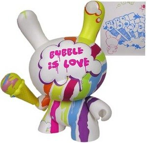 """Tilt Bubble is Love 8"""" Dunny by Kid Robot"""