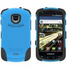 TRIDENT Blue AEGIS Case for Samsung DROID CHARGE i510 Hybrid SKIN + HARD Cover + Screen Protector