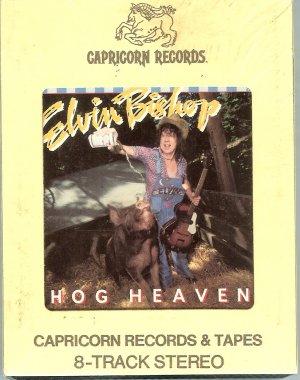 Elvin Bishop - Hog Heaven Sealed 8-track tape