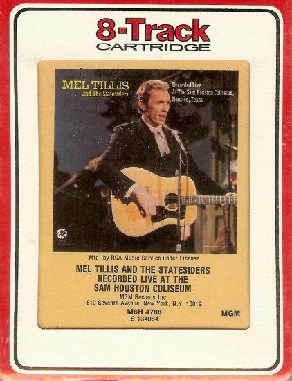 Mel Tillis Recorded Live at the Sam Houston Coliseum 1971 RCA Sealed 8-track tape