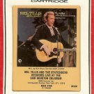 Mel Tillis Recorded Live at the Sam Houston Coliseum 1971 RCA Sealed 8-track tape