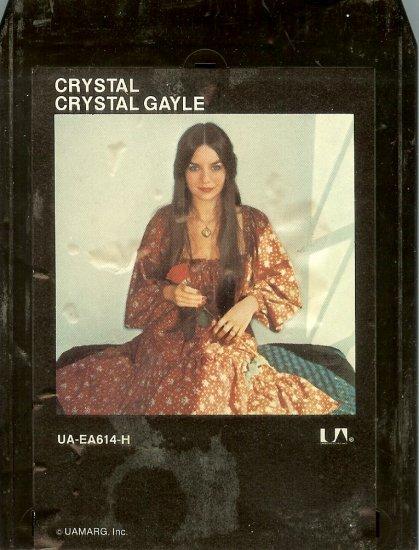 Crystal Gayle - Crystal 8-track tape