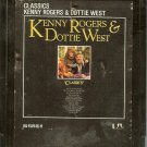 Kenny Rogers and Dottie West - Classics 1979 LIBERTY 8-track tape