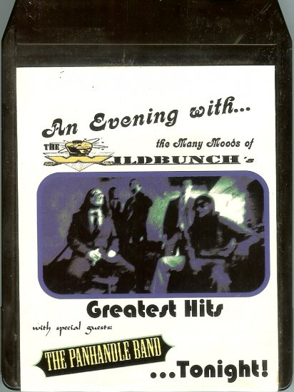 The Wildbunch - An Evening With The Wildbunch Greatest Hits 8-track tape OUT OF STOCK