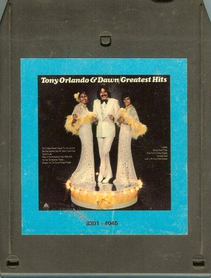 Tony Orlando & Dawn - Greatest Hits A21B 8-track tape