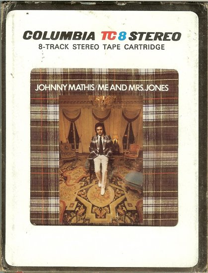Johnny Mathis - Me and Mrs. Jones 8-track tape