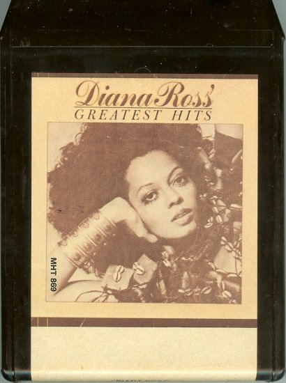 Diana Ross - Greatest Hits 8-track tape