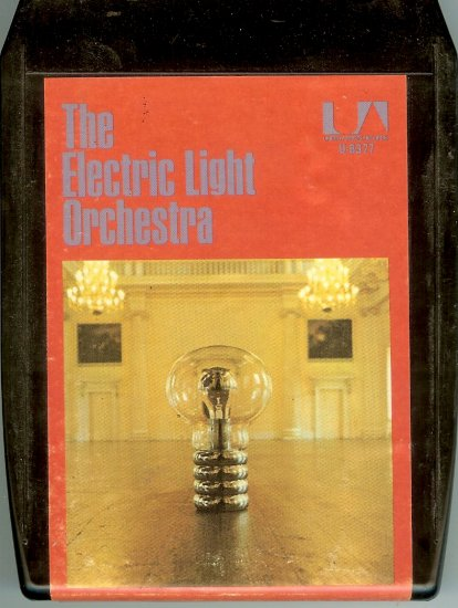 The Electric Light Orchestra - No Answer Debut Album 8-track tape