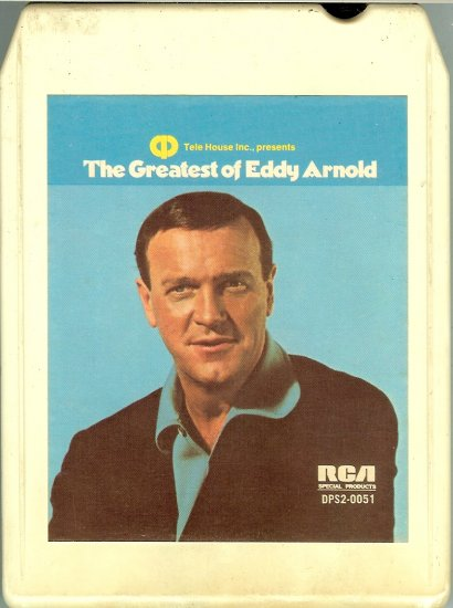 Eddy Arnold - The Greatest of Eddy Arnold 8-track tape