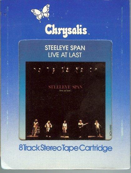 Steeleye Span - Live At Last 1978 CHRYSALIS 8-track tape